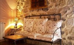 Sofa de la habitación de matrimonio
