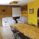 Comedor con dos sofas de 5 plazas