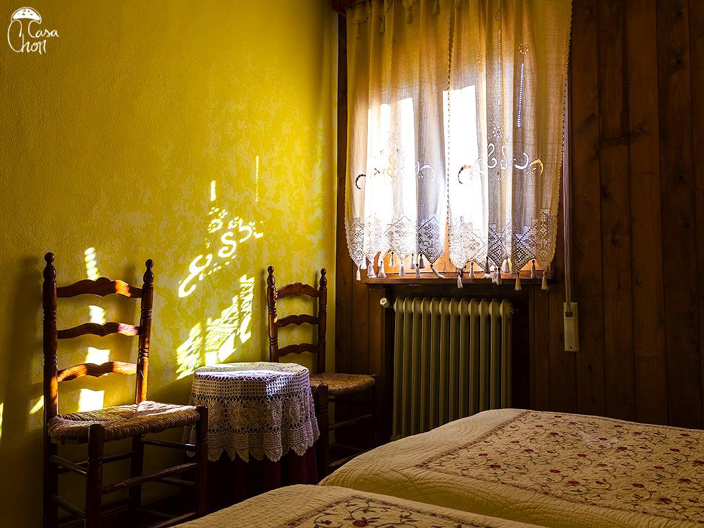 Habitación con dos camas de 1,90