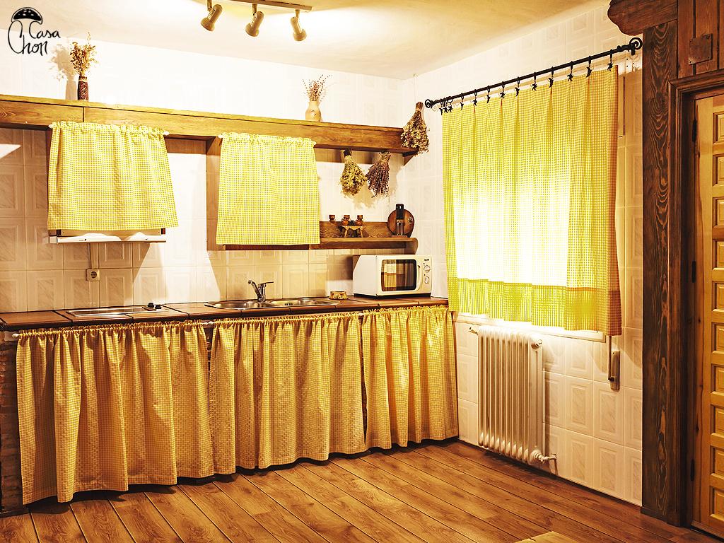 Casa rural magnolia apartamentos y casas rurales chon en for Cocinas rurales