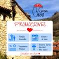 Descuentos para alojamientos en apartamentos y casas rurales Chon en Peralejos de las Truchas en el Alto Tajo