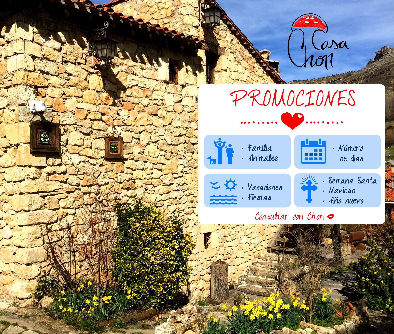 Promociones casas rurales y apartamentos Alto Tajo