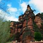Santuario de la Virgen de la Hoz en el barranco del río Gallo