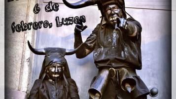 Carnavales Luzón los diablos vuelven con su cencerros y tiznados, alojamientos