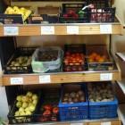 Fruta, patatas, tomates, pimientos, etc