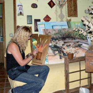 Artesanía en Peralejos de las Truchas. Casa Chon. Comienzos