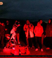 Astro Tajo. Grupo de marzo de 2017 con visión nocturna