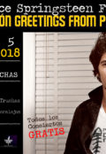4º Edición Greetings from Peralejos tributo a Bruce Springsteen 2018