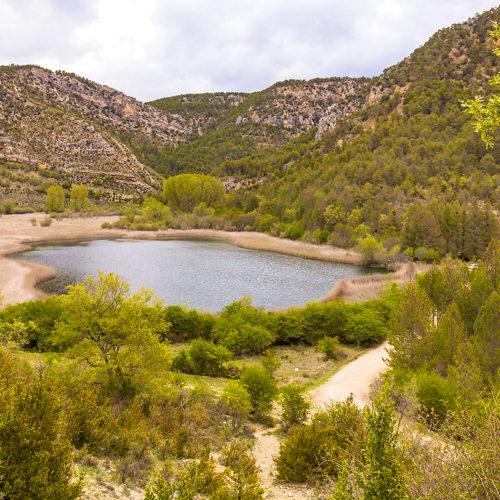 Laguna de Taravilla 2018. Zonas de Baño Peralejos de las Truchas