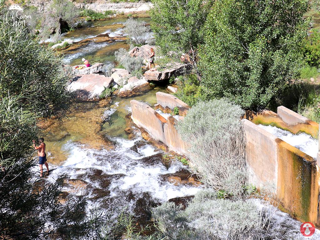 Zonas de ba os en el alto tajo piscinas naturales for Piscinas naturales guadalajara
