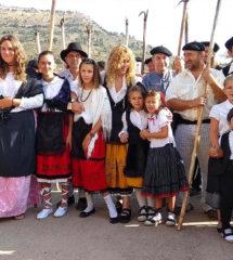 Fiesta Ganchera Peralejos de las Truchas 2018. Grupo Ganchero