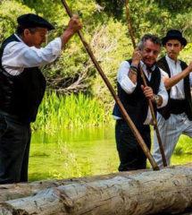 Fiesta Ganchera Peralejos de las Truchas 2018. Mayores Gancheros